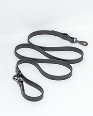 black sustainable dog collar waterproof