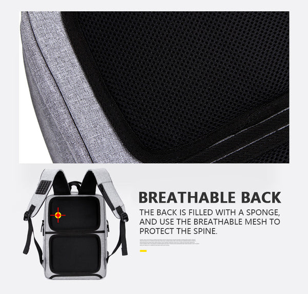 USB Charging Waterproof Backpack
