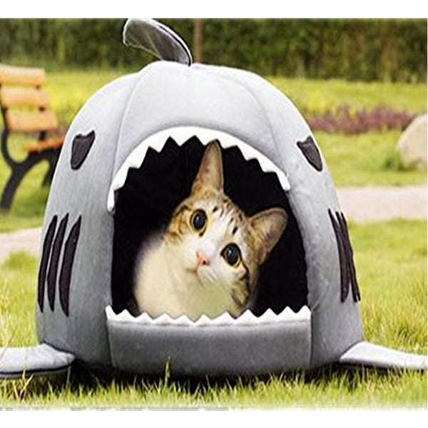 Shark Bed (For Cats or Dogs)