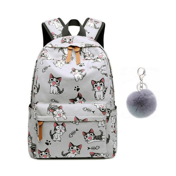 ANIMAL PRINT HIGHLY ATTRACTIVE SCHOOL BAG BACKPACK FOR GIRLS