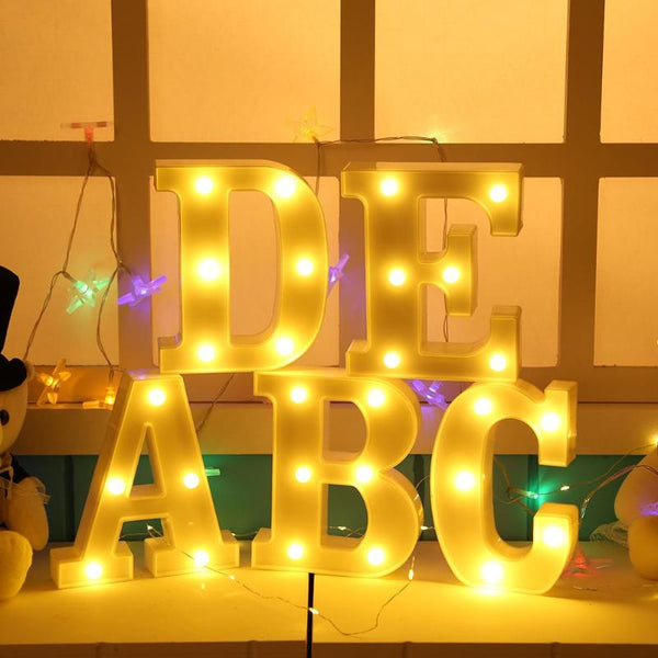Marquee Letter Signs With Lights