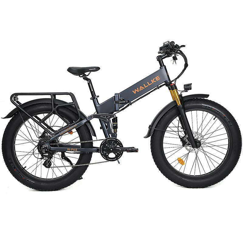 Wallke X3 Pro electric bike Matte Gray Right