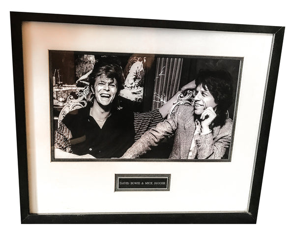 DAVID BOWIE AND MICK JAGGER ART