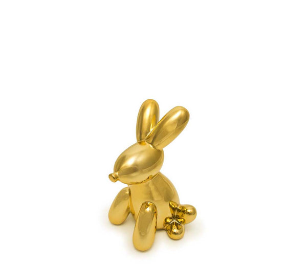 KOONS INSPIRED BALLOON BUNNY MONEY BANK