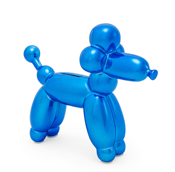 KOONS INSPIRED BALLOON FRENCH POODLE MONEY BANK