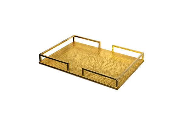 GOLD EVERGLADES METAL TRAY