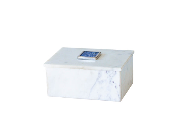 MARBLE BOX WITH LID