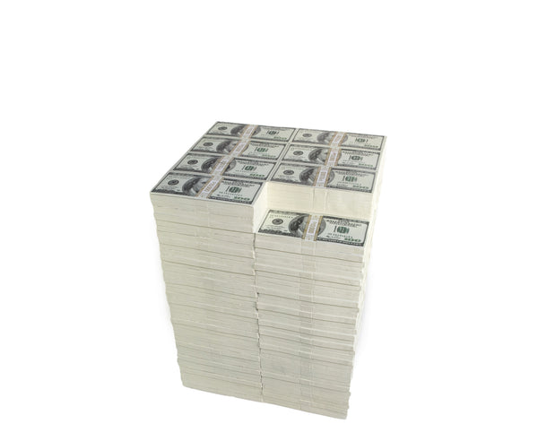 STACK OF CASH TABLE