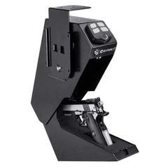 Pistol Keypad Biometric Safe