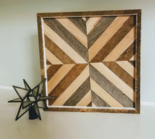 Load image into Gallery viewer, Geometric Wood Art