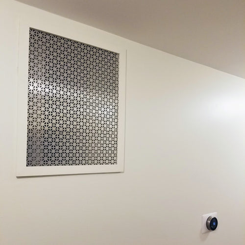 Decorative Return Air Vent Cover Deposit
