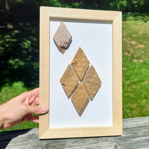 Diamond Wood Art