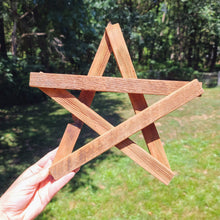Load image into Gallery viewer, Reclaimed Wood Star