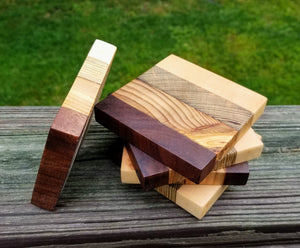 Wooden Coasters Set