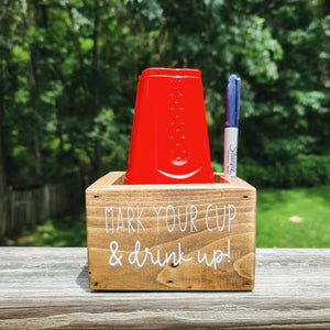 Party Cup/Marker Holder