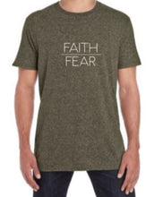 Load image into Gallery viewer, Faith over Fear t-shirt (men's)