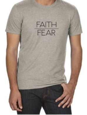 Faith over Fear t-shirt (men's)