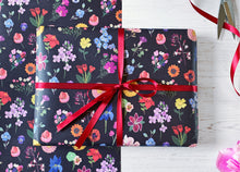Load image into Gallery viewer, Floral Wrapping Paper