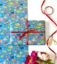 Load image into Gallery viewer, Fish Wrapping Paper