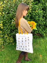 Load image into Gallery viewer, A-Z of Bees Tote Bag