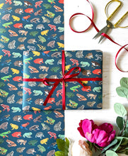 Load image into Gallery viewer, Frog Wrapping Paper