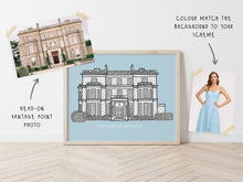 Load image into Gallery viewer, Custom Wedding Venue Portrait Print