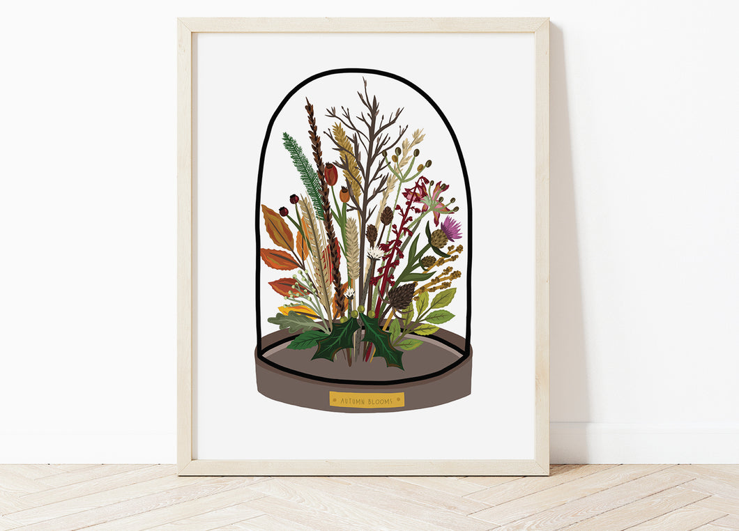 Autumn Bell Jar Print