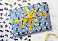 Load image into Gallery viewer, Bumble Bee Wrapping Paper