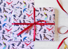 Load image into Gallery viewer, Beautiful Birds Wrapping Paper