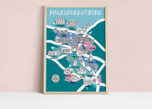 Load image into Gallery viewer, Buckinghamshire Illustrated Map
