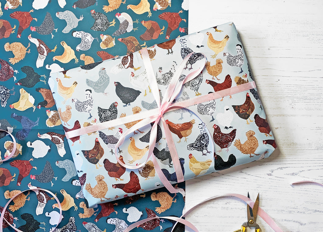 Chicken Wrapping Paper