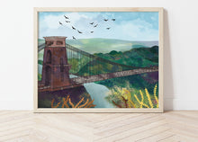 Load image into Gallery viewer, Clifton Suspension Bridge Print