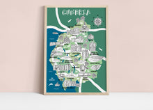 Load image into Gallery viewer, Cumbria Illustrated Map