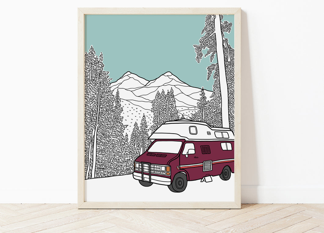 Custom Special Place Portrait Print