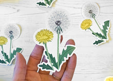 Load image into Gallery viewer, Large Dandelion Vinyl Sticker