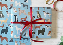 Load image into Gallery viewer, Dogs Wrapping Paper