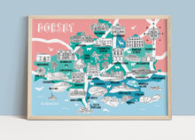 Load image into Gallery viewer, Dorset Illustrated Map