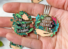 Load image into Gallery viewer, Save the Planet Enamel Pin Set