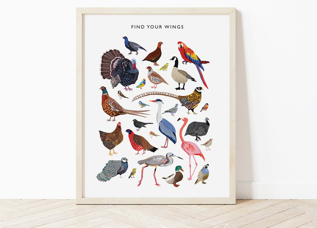 Find Your Wings Print