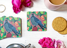 Load image into Gallery viewer, Jackdaw and Guavas Coaster