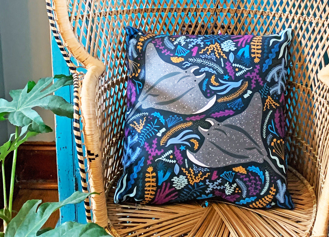 Manta Ray Cushion