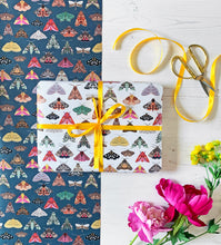Load image into Gallery viewer, Moth Wrapping Paper