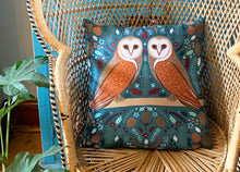 Load image into Gallery viewer, Folk Owl Cushion