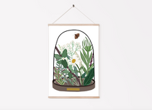 Load image into Gallery viewer, Plants Bell Jar Print