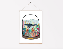 Load image into Gallery viewer, Ocean Bell Jar Print