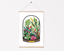 Load image into Gallery viewer, Desert Bell Jar Print
