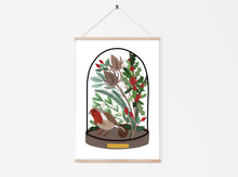 Load image into Gallery viewer, Winter Bell Jar Print