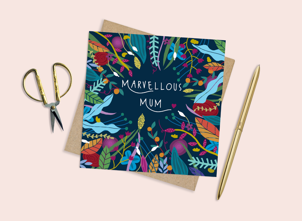 Marvellous Mum Mother's Day Card