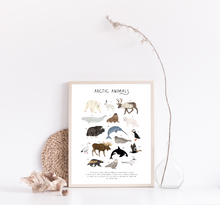 Load image into Gallery viewer, Arctic Animals Print