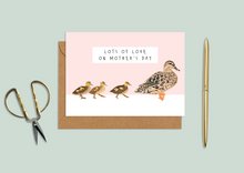 Load image into Gallery viewer, Ducklings Mother's Day Card